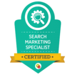 Digital Marketer Certified Search Marketing Specialist