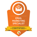 Certified Digital Marketer Email Marketing Specialist