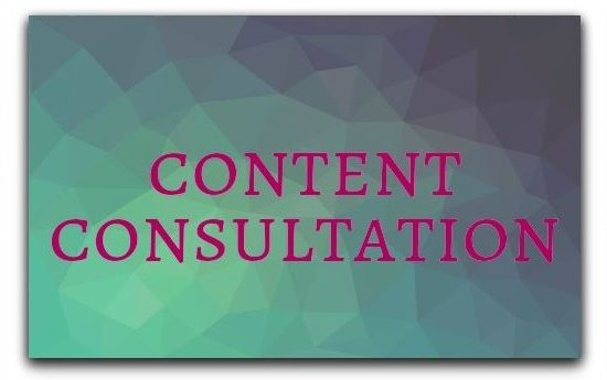 Content consultation services from Rhetorical Effect, LLC